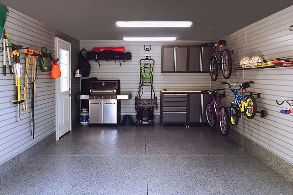 Come sfruttare e tenere in ordine il garage