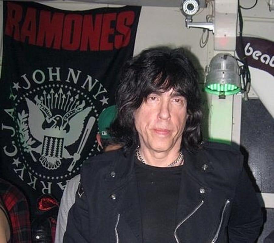 Marky Ramone, storico batterista dei Ramones.