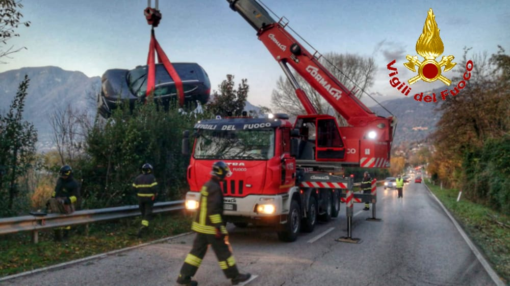 incidente oggiono pompieri 28 novembre 20191-2